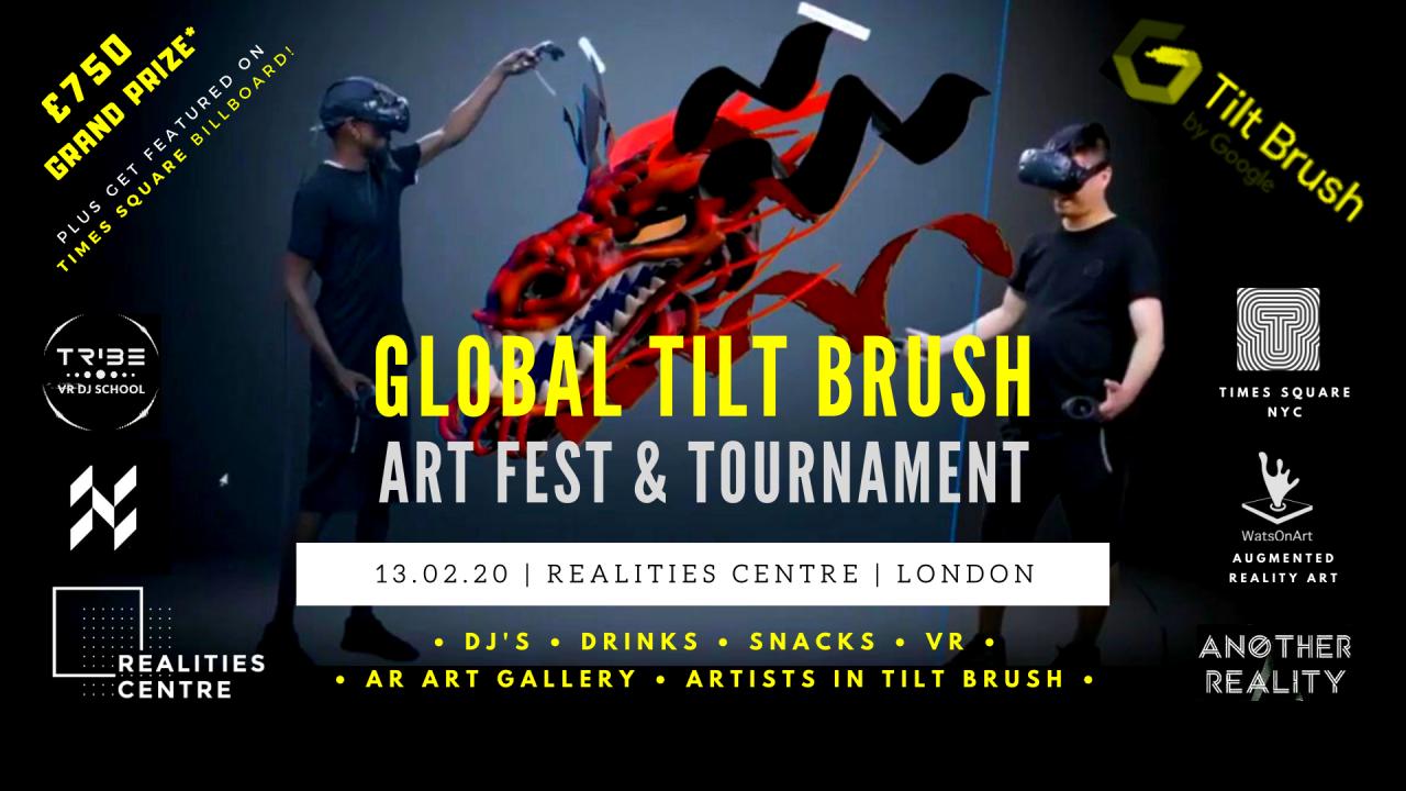 Global TiltBrush Tournament